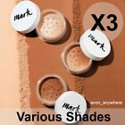 Avon Mark Loose Powder Mineral Foundation -was Calming effects Various Shades X3
