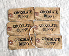 Hang Tags GRUNGY CHOCOLATE BUNNY EASTER SPRING TAGS T 25 Gift Tags