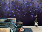 3D Purple Flower B319 Business Wallpaper Wall Mural Self-adhesive Commerce Amy
