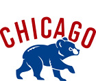 Chicago Cubs Logo Vinyl Decal Buy 2 Get 1 Free (put 3 into cart) on Ebay