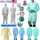 Kyпить 10/30/50X Non-woven Security Protection Suit Disposable lsolation Gown Clothing на еВаy.соm