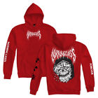 "Lurking Class by Sketchy Tank ""Nothing"" Pullover (Red) Men's Hooded Sweatshirt"