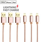 For iPhone 5 6 7 8 iPhone XS XRLightning Charger Cable Heavy Duty Charging Cord