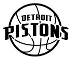 NEW Detroit Pistons Vinyl Logo Decal  You Pick The Size & Color Car Windows Cups on eBay
