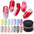 BORN PRETTY 5ml Stamping Gel Polish Black White Red Nail Art Plate Printing Gel