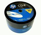 HP Blank CD-R CDR LOGO 52X 700MB 80MIN BRANDED LOT = 50 TO 1800 Discs