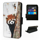 Cute Red Panda - Flip Phone Case Wallet Cover Fits Iphone & Samsung XR 11 S10