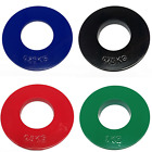 FXR SPORTS FRACTIONAL 2* OLYMPIC WEIGHT PLATES DISCS  0.25, 0.5, 0.75, 1KG