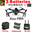 Hubsan Zino Pro Drone 4K Camera Photography Quadcopter-5G 4.5KM FPV+2Battery+Bag