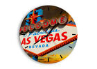 WALL CLOCK - CLOCK ON GLASS Sign Famous Sky - 12 SHAPES - UK 2594