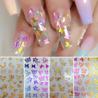 3D Nail Sticker Butterfly Transfer Beautiful Decals Decoration Nail Art Accessor
