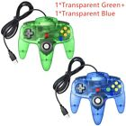 For Nintendo 64 N64 USB Controller Gamepad Joystick For PC MAC Raspberry Pi 3