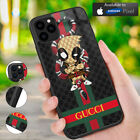 Case Cover iPhone 6 7 X XR XS Guccy44r 11 Pro Max/Samsung Galaxy S20Deadpool D01