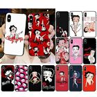 Cartoon Betty Boop Case cover iPhone 5 6 6S 7 8 + X XR XS 11 Pro Max SE 2nd $7.87 CAD on eBay