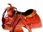PREMIUM TOOLED WESTERN HORSE SADDLE 17 16 PLEASURE RANCH ROPING PLEASURE TACK