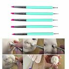 Nail Dotting Tool Art Gel Acrylic Painting Drawing Liner Brush Set Picker Pen 5 image