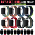 Nylon Woven Sport Band Watch Loop Strap For Apple Watch iWatch 38/40/42/44MM image