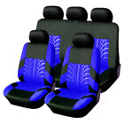 9Pcs Full Set Universal Auto Seat Covers Protector For Car Truck SUV Van 4-Color
