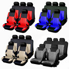 9Pcs Full Set Universal Auto Seat Covers Protector For Car Truck SUV Van 4-Color $26.84 USD on eBay