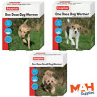 Beaphar One Dose Wormer Worming Roundworm Tapeworm Dog Puppy Tablets
