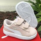 Puma 365178-22 Smash 2V Small Kids Toddler Little Girls Shoes Sneakers Sizes