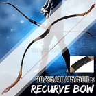 US 35-50lbs. Recurve Bow Traditional Archery Hunting Handmade Mongolian Longbow