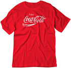 BSW Men's Enjoy Coca-Cola Coke Pop Soda Drink Vintage Logo Shirt