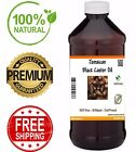 Jamaican Black Castor Oil - PREMIUM QUALITY 100% Pure Natural Hair Growth BULK
