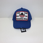 DSquared2 Canadian Brothers Cap Blue