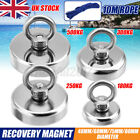 500kg Pull Salvage Strong Recovery Magnet Fishing Treasure Neodymium + 10m Rope