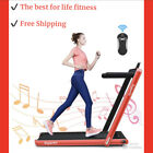 Goplus 2 in 1 Folding Treadmill Fitness Running Walking Machine For Home Gym