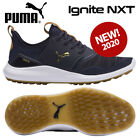 Puma Ignite NXT Men's Golf Shoes Peacoat/Gold/White - NEW! 2020