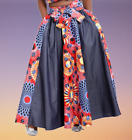 3pc African Wax Print Skirt and Top Set