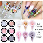 BORN PRETTY 5ML Carving Poly Extention 2 in 1 Gel Nail Polish Glitter Nail Art