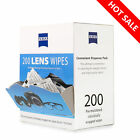ZEISS Lens Cleaning Wipes Eye Glasses Computer Optical Lense Cleaner 100 150 200