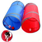 25x50cm Lightweight Foldable Pet Tunnel Polyester Rest Cats Dogs Small Portable