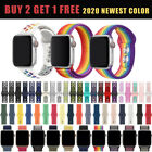 Kyпить Silicone Nylon Sport Loop Replacement Band For Nike+ Apple Watch Series 5 4 3 21 на еВаy.соm