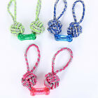 Knots Dog Toy Dog Tug Toys Dog Chew Toy For Playing Cotton Rope Dog Rope Toys