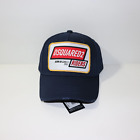 DSquared2 Riders Embroidery Logo Cap Navy