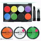 Technic Face Body Paint Palette Set Kit Halloween Makeup Painting Witch Pumpkin