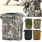 Tactical Molle Utility Magazine Dump Drop Pouch Hunting Gun Ammo Mag Pouch Bag
