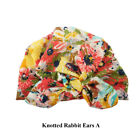 Kids Newborn Cotton Beanies Baby Bowknot Hat Warm Caps Knotted Rabbit Ears