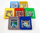 Pokemon GameBoy Color Games Complete Set Renewed Pick Yours Fast Shipping