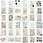 DIY Transparent Clear Stamps Silicone Stamp Scrapbooking Christmas Card Album
