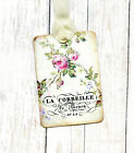 Hang Tags FRENCH PARIS PINK ROSE TAGS or MAGNET 187 Gift Tags