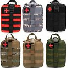 Outdoor Tactical First Aid Kit Bag Medical EMT Emergency Survival Pouch Molle US