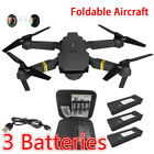 Drone X Pro WIFI FPV 1080P HD Camera 3Batteries Foldable Selfie RC Quadcopter