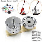 Round Button Maker Die Mould Interchangeable for Badge Machine 1 inch -2.28inch
