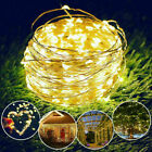 LED Solar String Light Lights Waterproof Copper Wire Fairy Outdoor Garden&Party