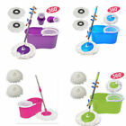 Kyпить 360° Spin Mop with Bucket Set Dual Heads Floor Cleaning System Home Clean Tools на еВаy.соm